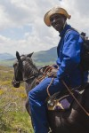Basotho Guide on his pony