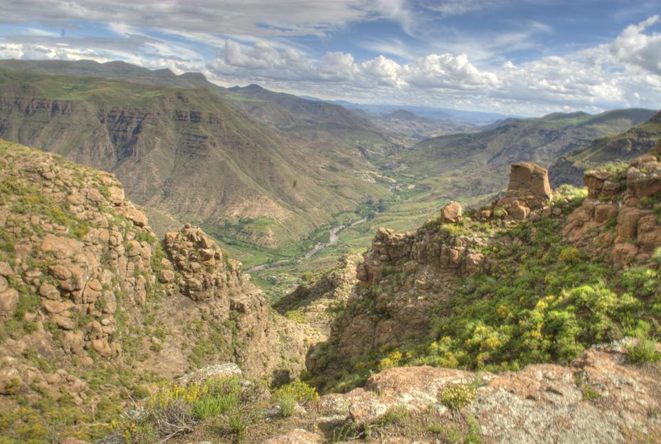 Ketane Valley Lesotho Maluti Mountains