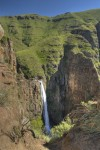 Ketane waterfall Lesotho Maluti Mountains