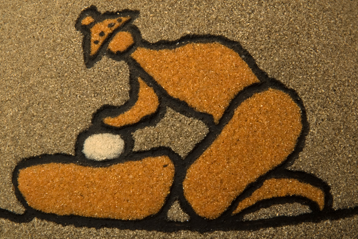 Sand Painting ~ The Grinder