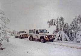 Snow in Qwa Qwa