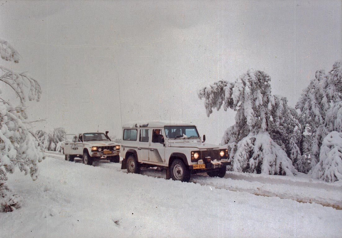 Snow in Qwa Qwa